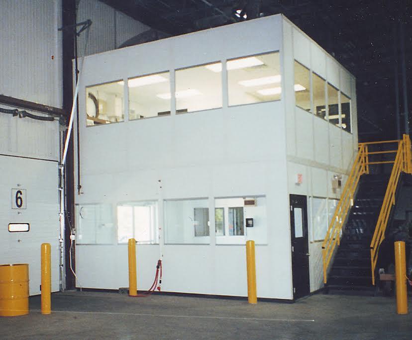 Mezzanine Level Modular Office