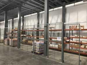 Wire Mesh Installs - Retail distribution center Aberdeen, Maryland